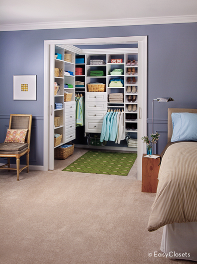 Closet organizers for your bedroom by Walk in bedroom closets