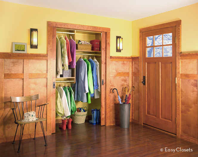 Foyer Closet Storage Ideas : Closet designs for your foyer by easyclosets